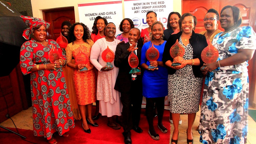 Awarding the Women Leaders of Kenya